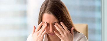 лечения «компьютерного синдрома глаз»